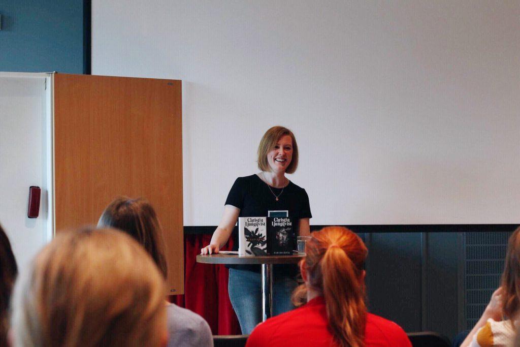 Christin Ljungqvist föreläser